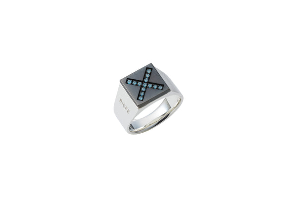 [オンライン限定]<br> Invincible Ring_SV925 × Blue Topaz