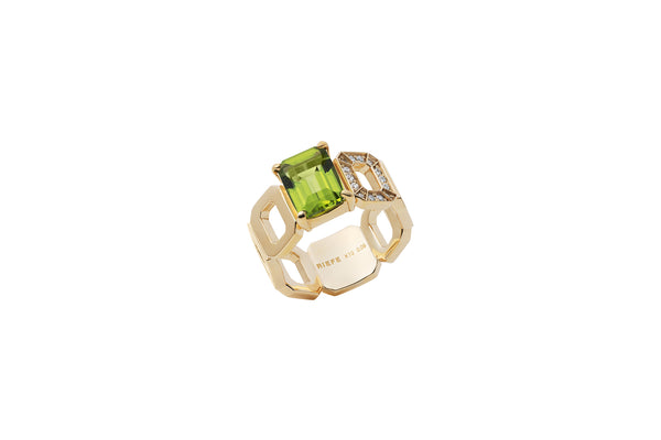 Incomplete Ring_YG × Peridot