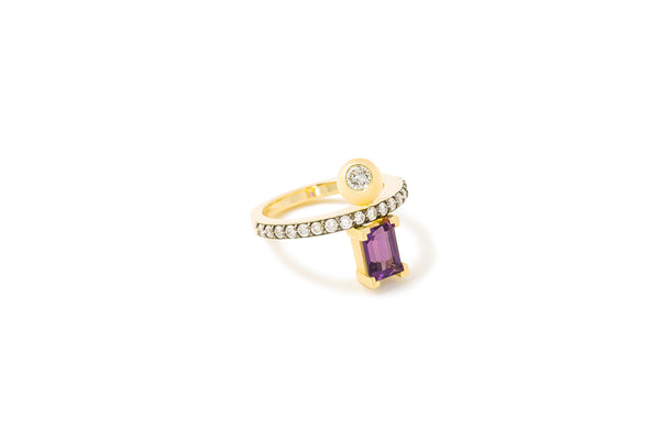 Equal Ring_YG × Amethyst