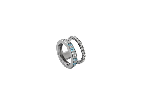 Alignment Ring_GG × London Blue Topaz