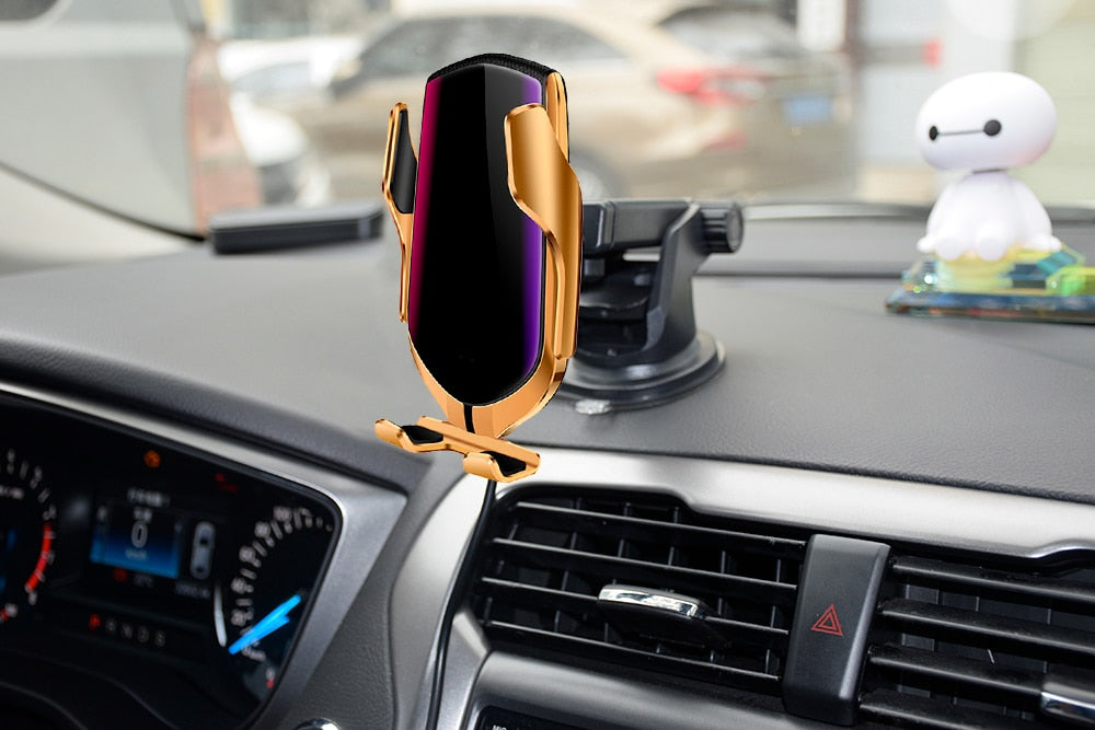 FOX Premium Wireless Car Charger - FoxAutoShine