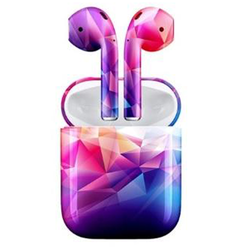 Neon Abstract Wireless Bluetooth EarBuds PremiumBuds