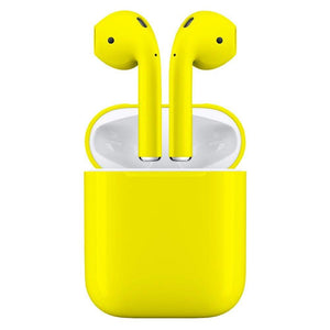 Yellow Wireless Bluetooth EarBuds PremiumBuds