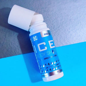 ICE BODY SHOTS - CBD TOPICAL ROLL ON