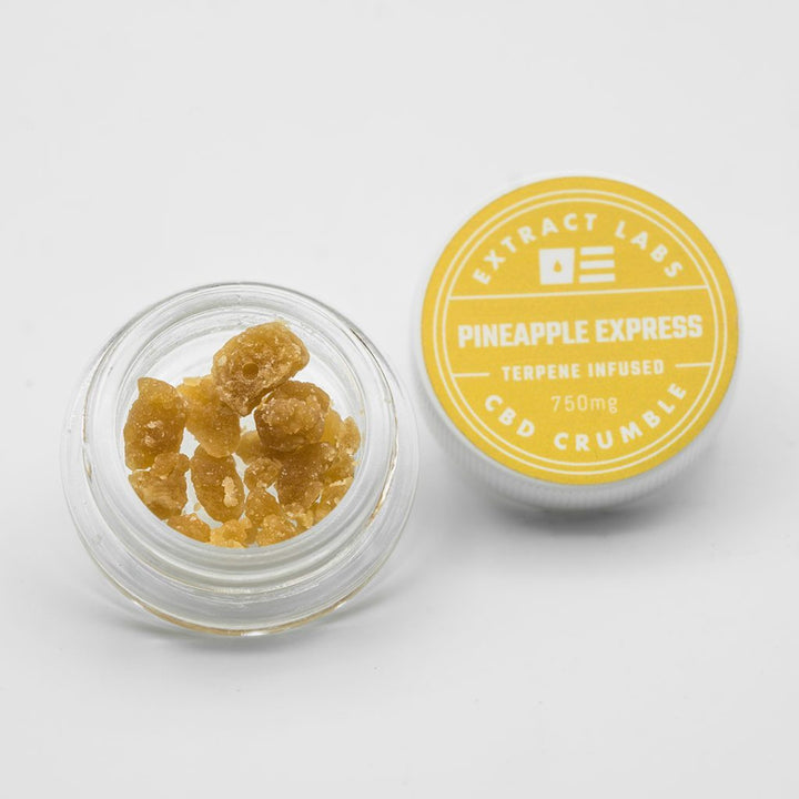 Extract Labs Pineapple Express CBD Crumble | 100mg