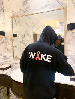 WAKE WAKE X BREAST CANCER AWARENESS HOODIE