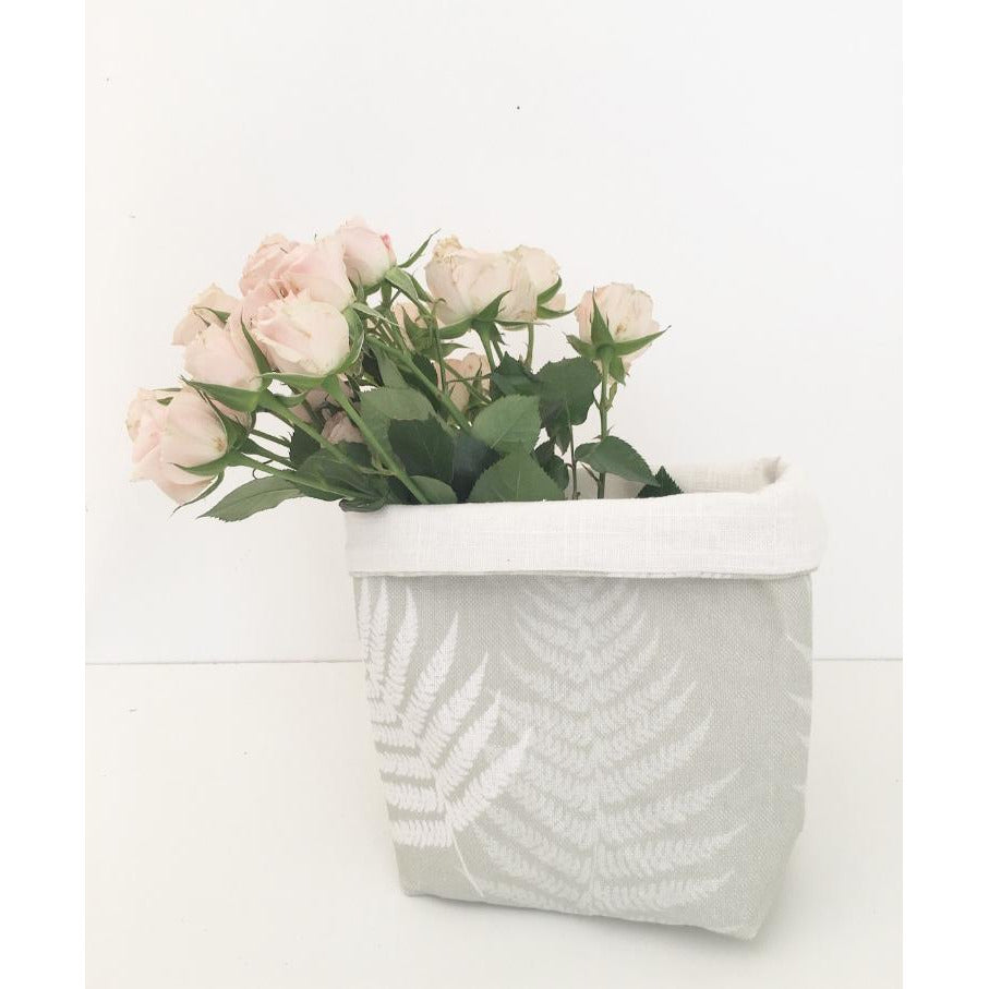 Fabric Pot ~ Ferns
