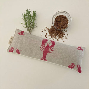 Eye Pillow Lobster - Cherry on Stone