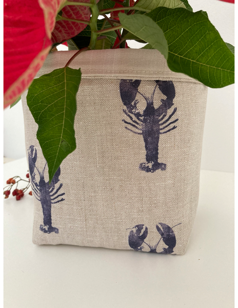 Fabric Pot ~ Lobster
