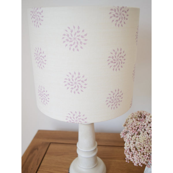 Olive & Daisy Orchid Nancy Linen Lampshade