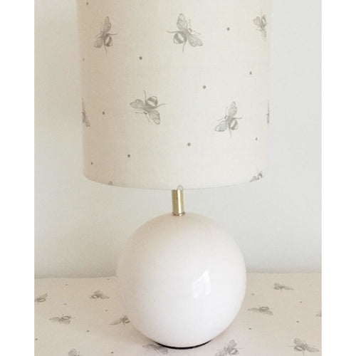 Peony & Sage Just Bees Linen Lampshade