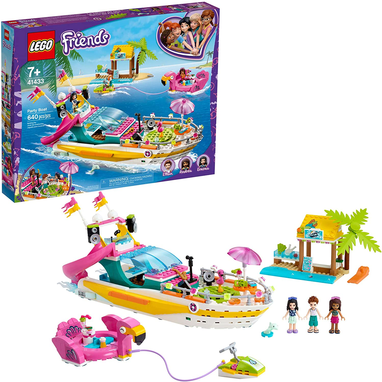 LEGO Friends Party Boat