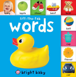 Bright Baby: Lift-The-Tab Words