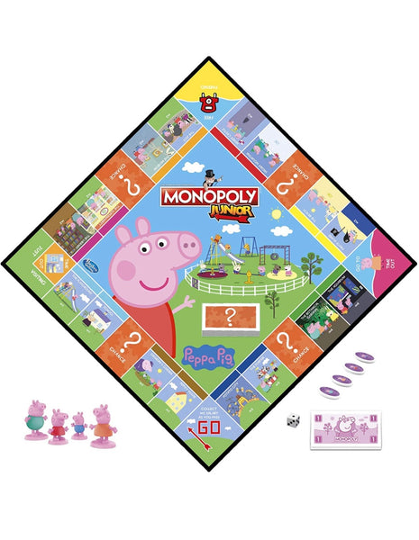 Monopoly Junior: Peppa Pig Edition Board Game