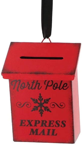 North Pole Express Mail Ornament