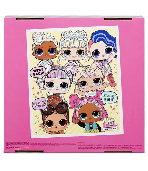 L.O.L Surprise Confetti Pop 6pack
