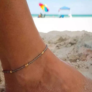 Beaded anklet