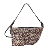Over the Shoulder Cheetah Sling Bag