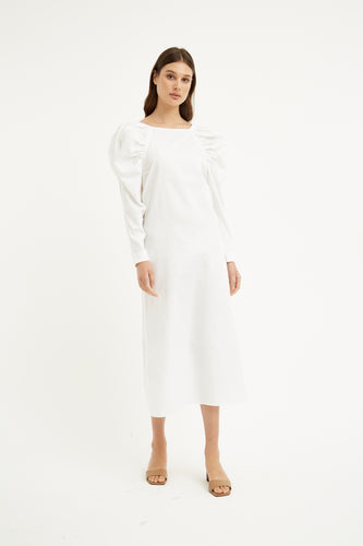 Elisabetta Dress | White