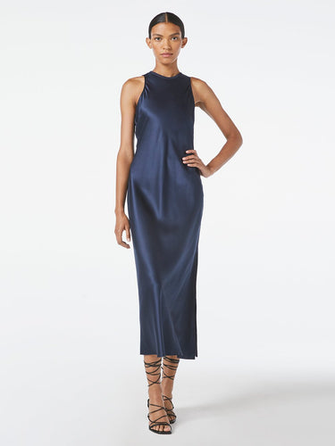 Washable Silk Bias Maxi Dress
