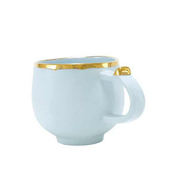 Oditi Designs baby blue round cup side