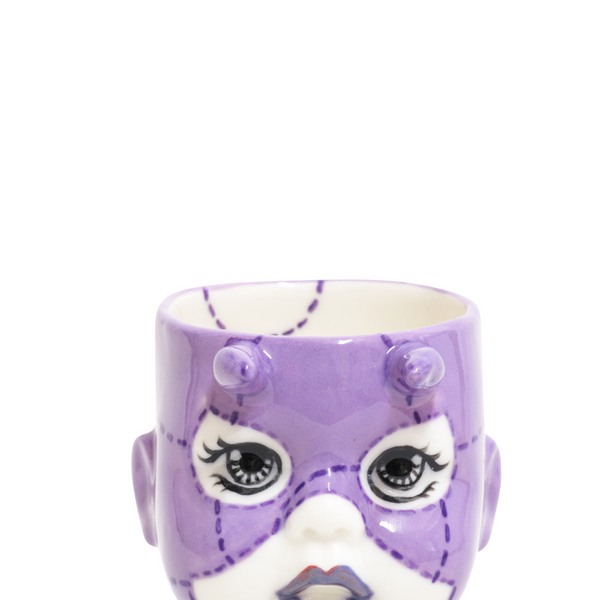 purple devil doll by oditi designs front