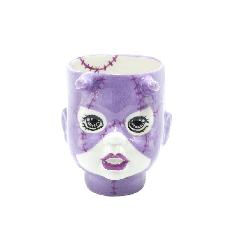 SALE Super spooky Purple Devil Doll handmade by Oditi Designs in Sydney