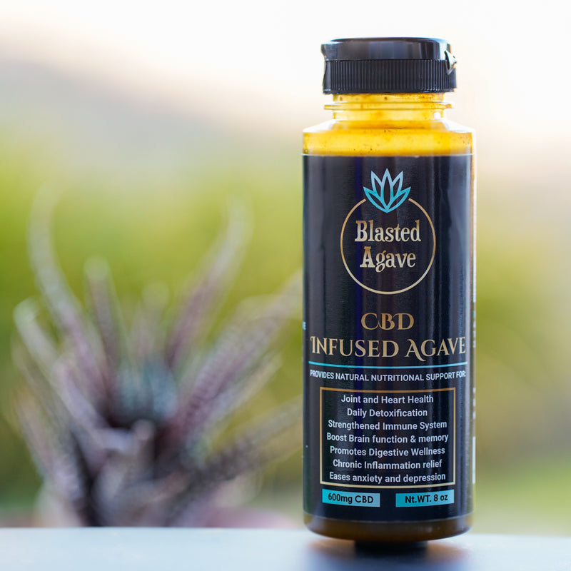 Blasted Agave with CBD