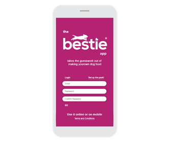 bestie app homescreen
