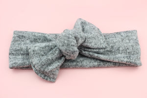 Heather Grey Darling Knot OS