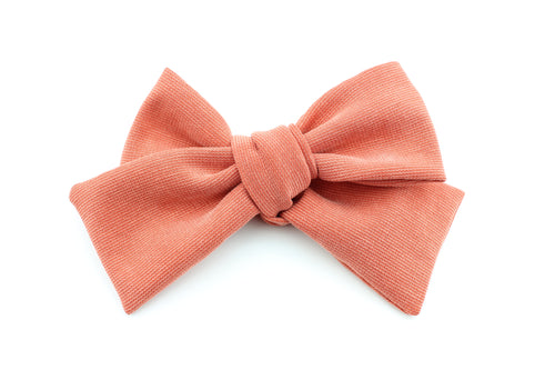 Dark Coral Bow