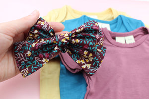 September Floral Bow SALE