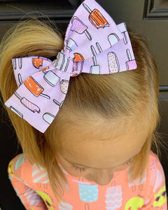 Dreamsicle Bow -SALE