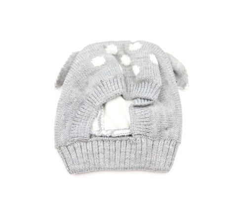 Baby Deer Hat Grey