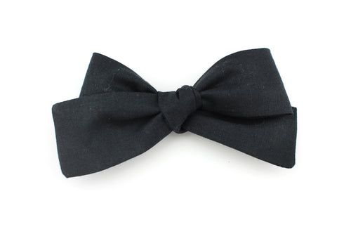 Black Small Bow