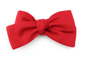 Dark Red Small Bow