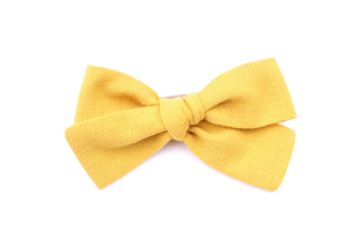 Mustard Small Bow