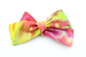Tie Dye Small Bow