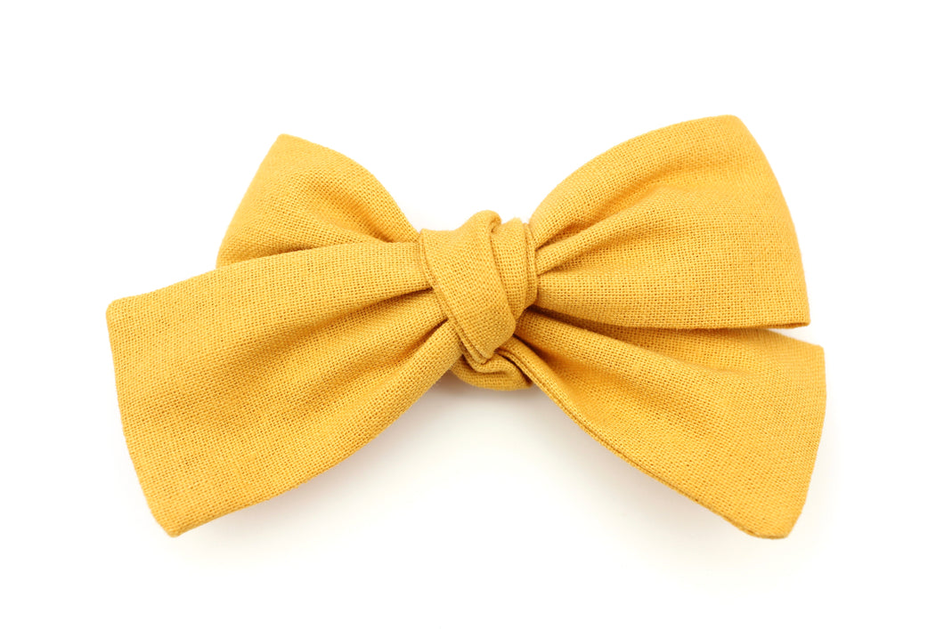 Golden Wheat Petite Bow