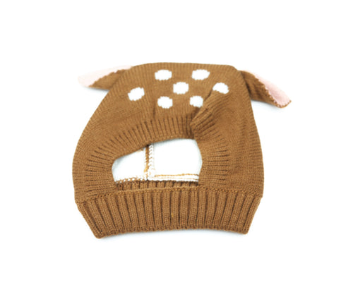Baby Deer Hat Brown