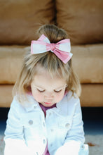 Load image into Gallery viewer, Pink Plaid Bow