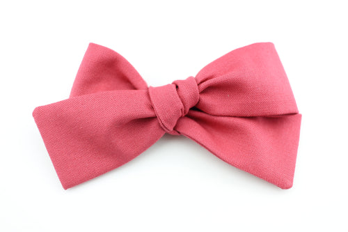 Deep Rose Small Bow