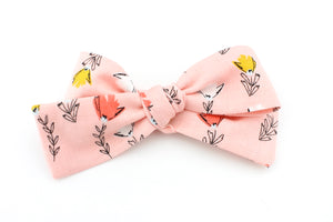 Petals in Pink Petite Bow