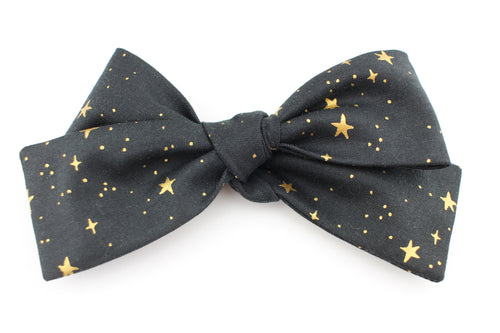 Little Stars Black Big Bow