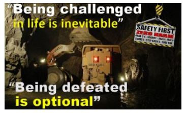 Being defeated is optional ! - FIFO STAFF