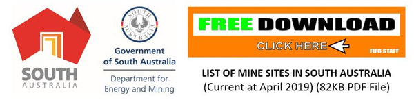 Mine Sites in South Australia