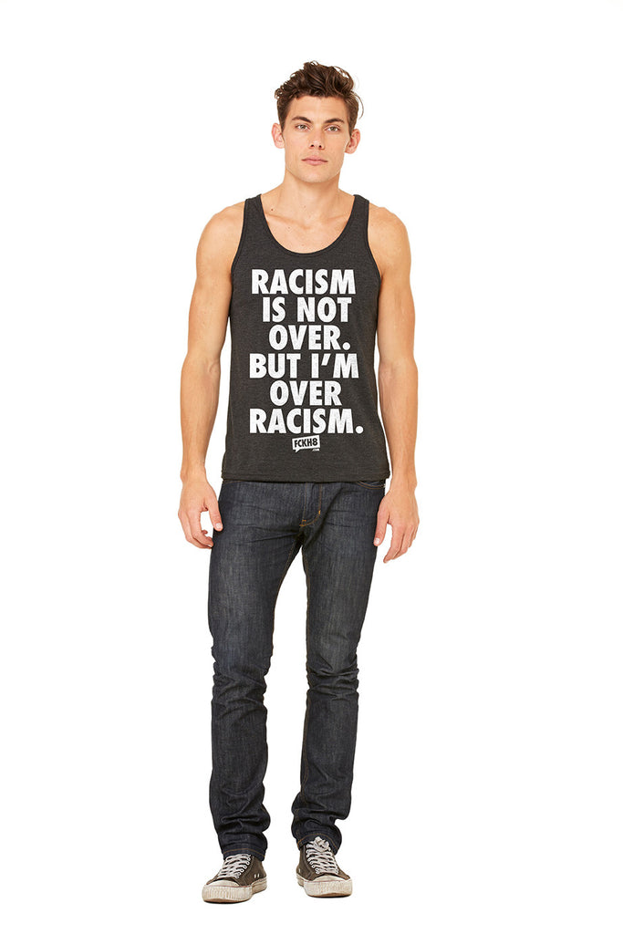 "Unisex Vintage Blend  ""Anti-Racism"" Tank Top"