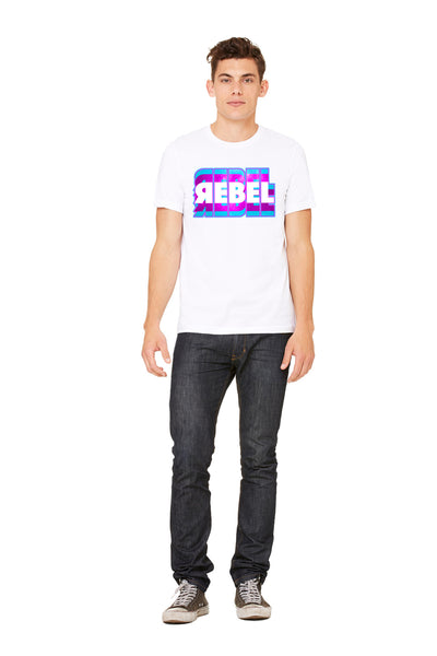 "Unisex 100% Cotton ""Rebel"" Tee"