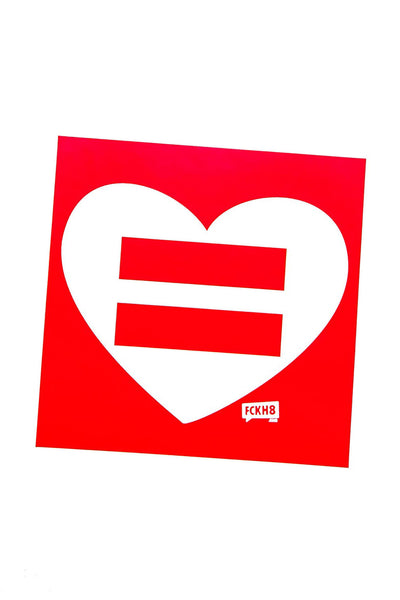 Love is Equal Bumper Sticker