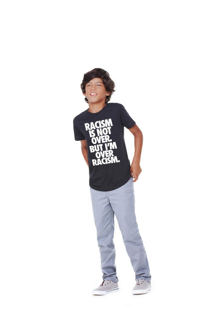 "Kid's 100% Cotton ""Anti-Racism"" Tee"